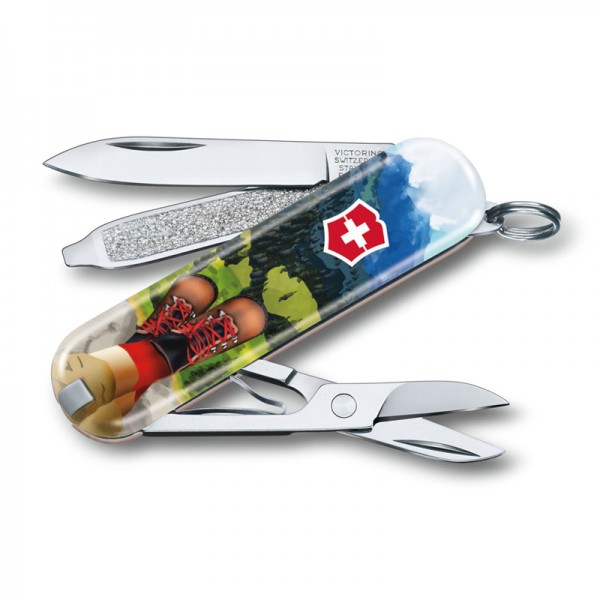 Victorinox Classic Limited Edition 2020 I Love Hiking Multitool 0.6223.L2002