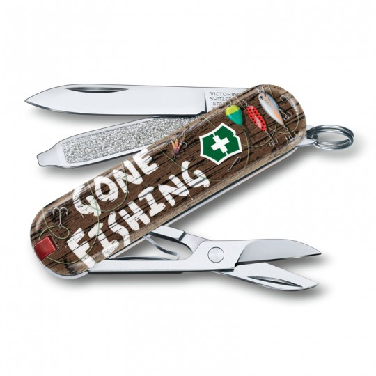 Victorinox Classic Limited Edition 2020 Gone Fishing Multitool 0.6223.L2005