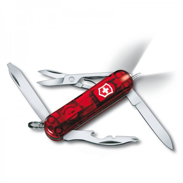 Victorinox Midnite Manager Translucent Red Multitool 0.6366.T