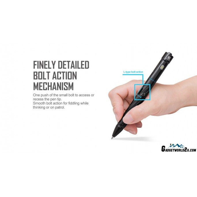 Olight OPen 2 Bolt Action Rechargeable Flashlight and Pen