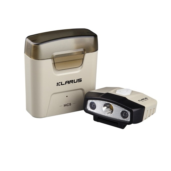 Klarus HC5 Cap Visor Clip Motion-Sensing Lamp 120L Rechargeable Headlamp