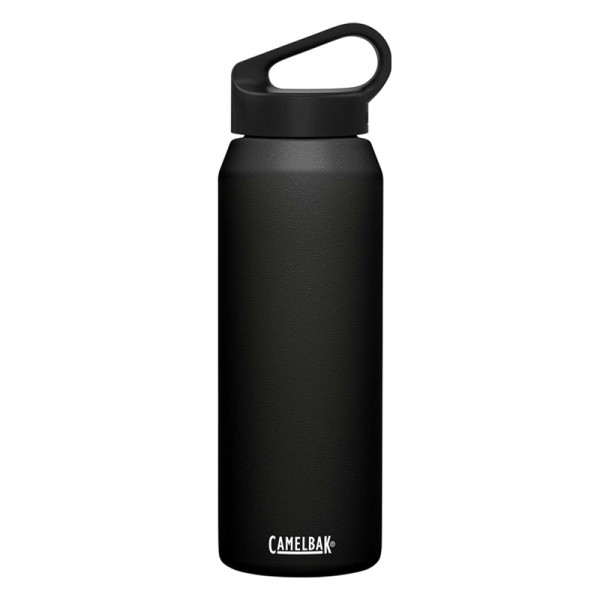 Camelbak Carry Cap 1L 1 Liter Insulated Stainless Steel Thermos Water Bottle Black