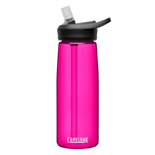 Camelbak Eddy+ 750ml Spill-Proof BPA Free Water Bottle Deep Magenta