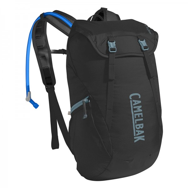 Camelbak Arete 18 16.5L Hydration Backpack with 1.5L Crux Reservoir Black Slate Grey