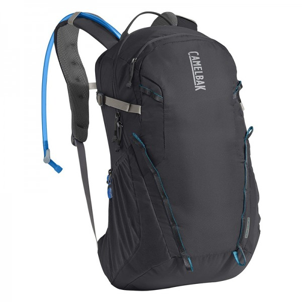 Camelbak Cloud Walker 18 15.5L Hydration Backpack with 2.5L Crux Reservoir Charcoal Grecian Blue