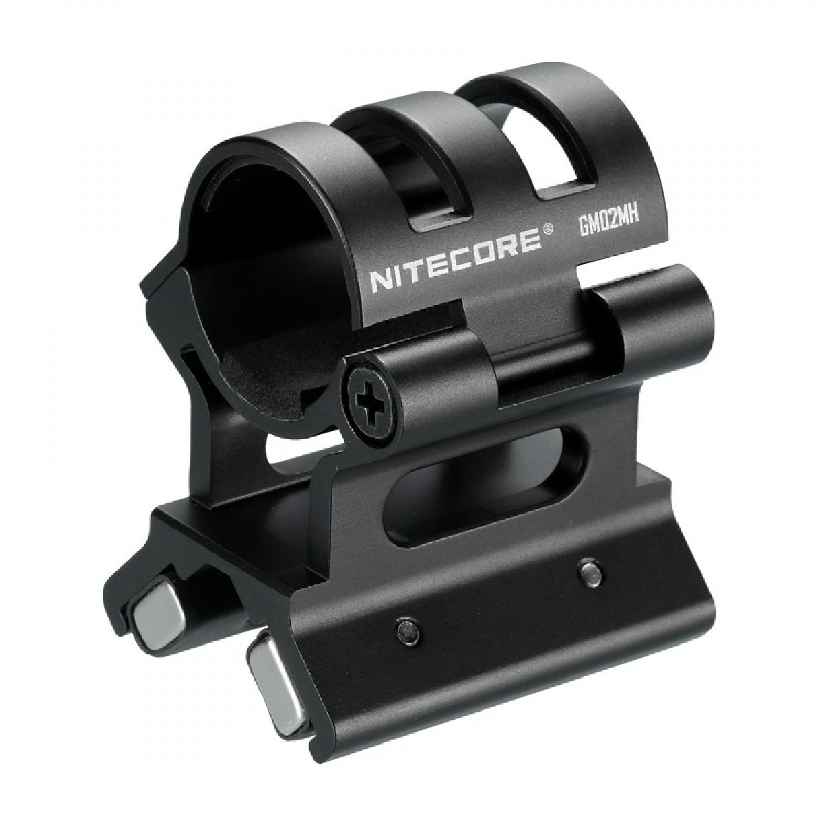 Nitecore GM02MH Magnetic Barrel Gun Mount for Flashlight