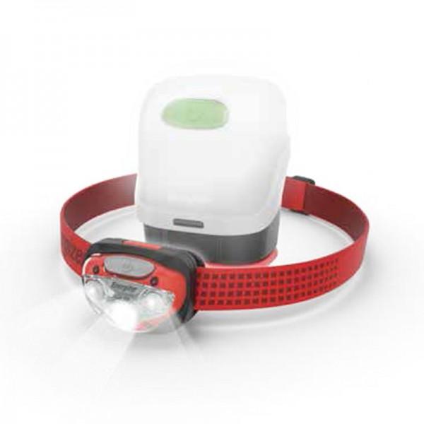 Energizer Vision Headlight 300L LED Headlamp HDB323 with Lantern Case HDLN00