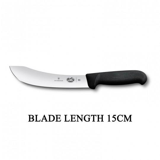 Victorinox Fibrox 15cm Curved Rigid Butcher Skinning Knife 5.7703.15
