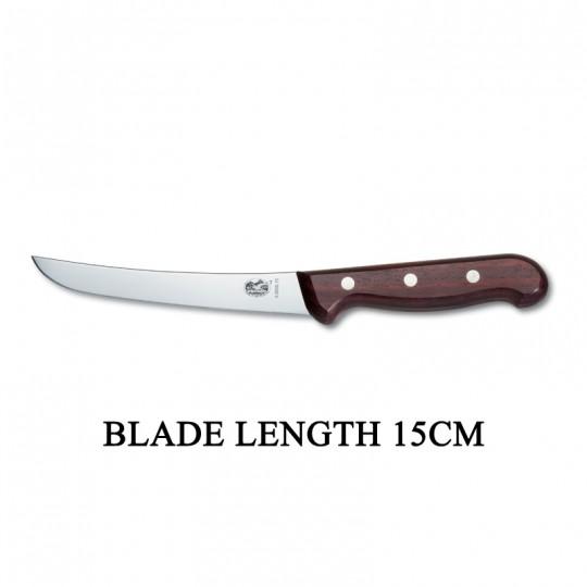 Victorinox RoseWood 15cm Rigid Wood Boning Knife 5.6500.15