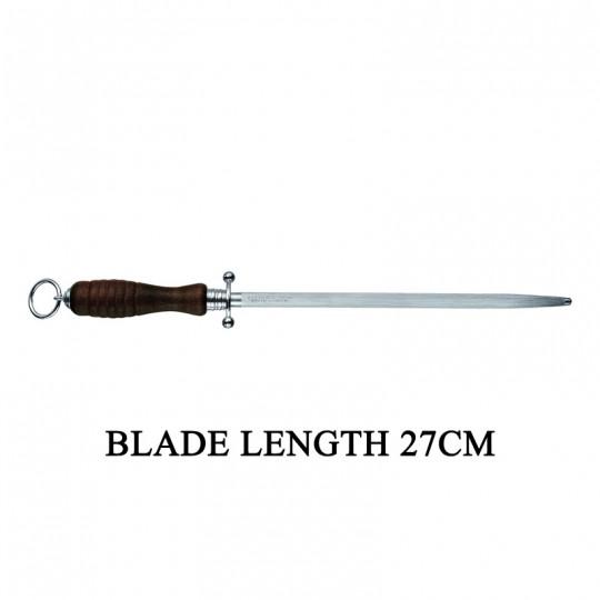 Victorinox Round 27cm Beechwood Kitchen Sharpening Steel Knife Sharpener 7.8330