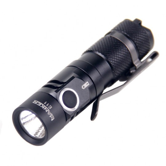 Manker E11 CREE XP-L NW LED 800L Flashlight