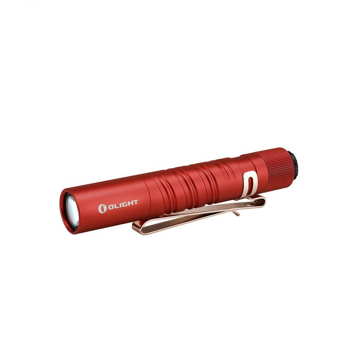 Olight I3T EOS Red Dual-Output Luxeon TX CW LED 180L Flashlight