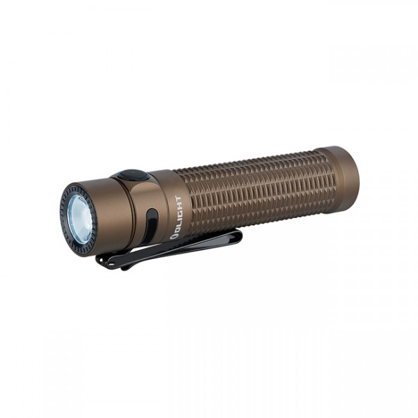 Olight Warrior Mini Desert Tan LUMINUS SST40 1500L LED Rechargeable Flashlight