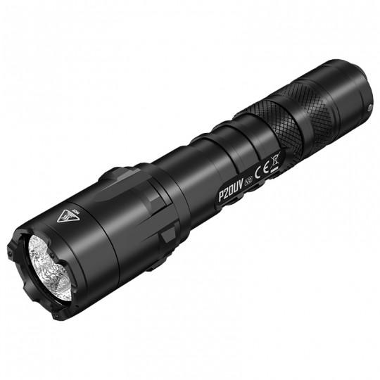 Nitecore P20UV V2 1000 Lumens CREE XP-L2 V6 LED + 4 UV LEDs Flashlight
