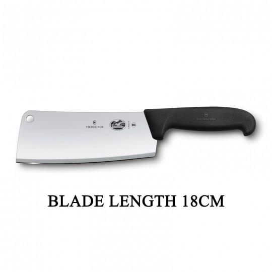 Victorinox Fibrox 18cm Kitchen Cleaver Butcher Fish Vegetable Knife 5.4003.18