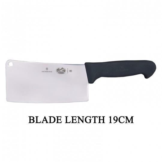 Victorinox Fibrox 19cm Kitchen Cleaver Butcher Fish Vegetable Knife 5.4003.19