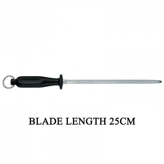 Victorinox Round 25cm Kitchen Sharpening Steel Knife Sharpener 7.8303