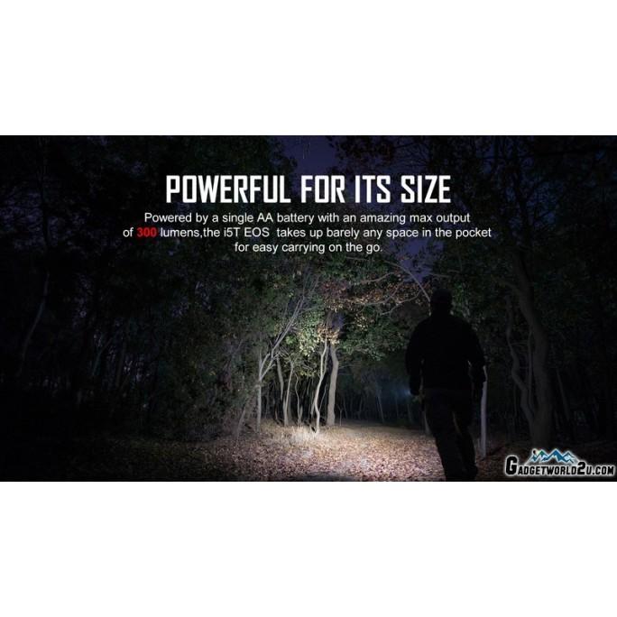 Olight I5T EOS Camouflage Dual-Output Luxeon TX CW LED 300L Flashlight
