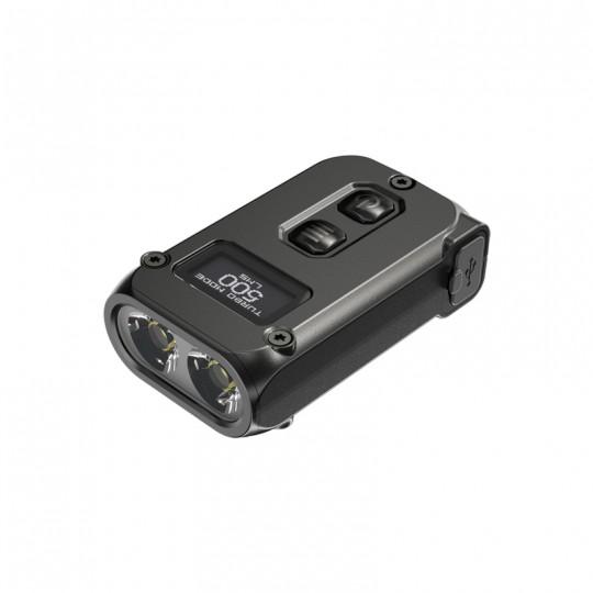 Nitecore TINI 2 Black 500L USB Rechargeable Keychain Flashlight