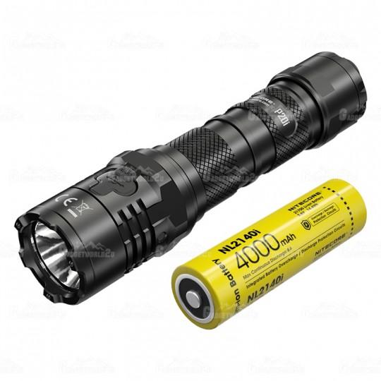 Nitecore P20i Luminus SST-40-W LED 1800L USB Rechargeable Flashlight