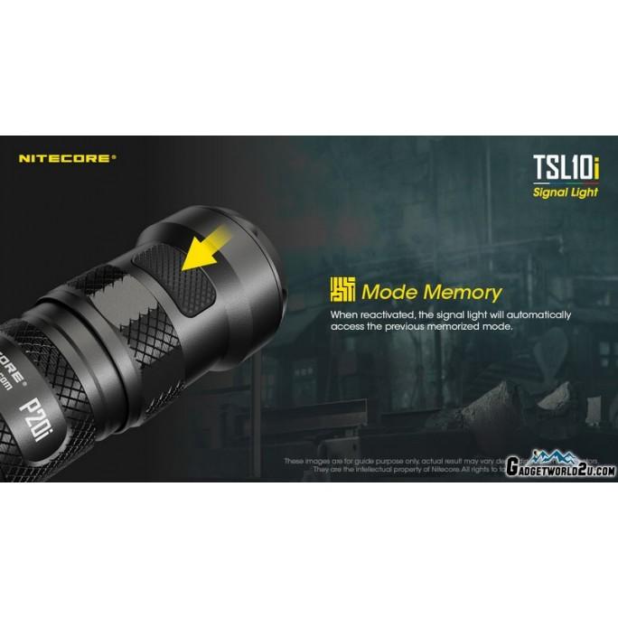 Nitecore TSL10i 4-Colour LED Signal Light Tactical Tail Switch Cap