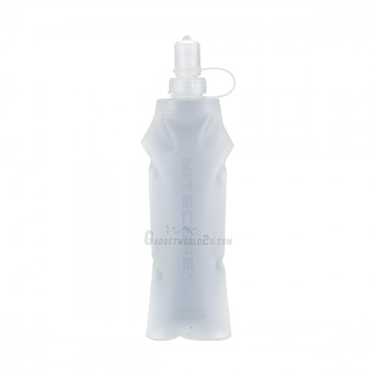 Nitecore Soft Flask Water Bottle Lightweight Leak-Proof Collapsible 500ml