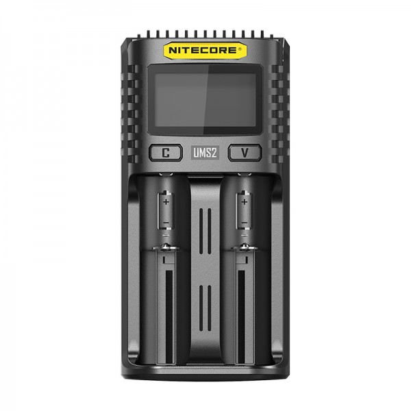 Nitecore UMS2 Intelligent USB QC 3A Charging Four-Slot Li-ion NiMH Battery Charger