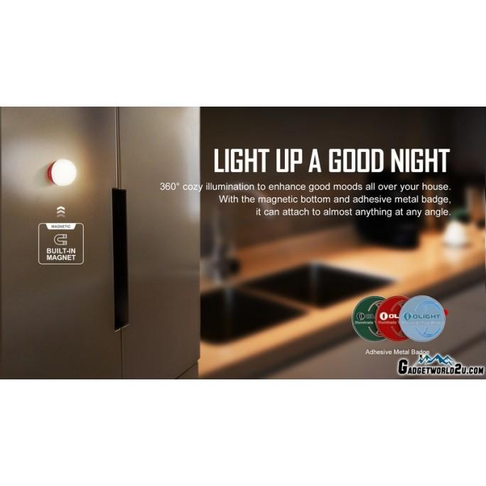 Olight Obulb Red LED Rechargeable Mini Orb Night Light Lantern