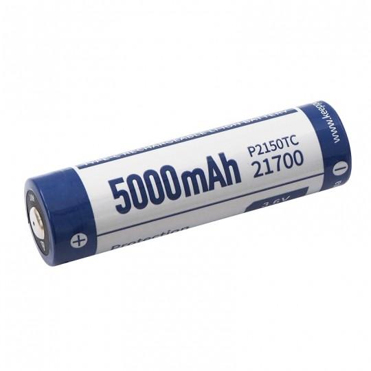 KeepPower 21700 3.6V 5000mAh Li-ion USB-C Protected Rechargeable Battery P2150TC