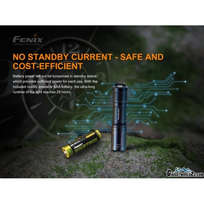 Fenix E01 V2.0 Cree XP-G2 S3 LED CW 100L Keychain Flashlight BLUE