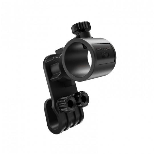 Nitecore HRM2 Adjustable 3D Pivoting Helmet Mount for Flashlight
