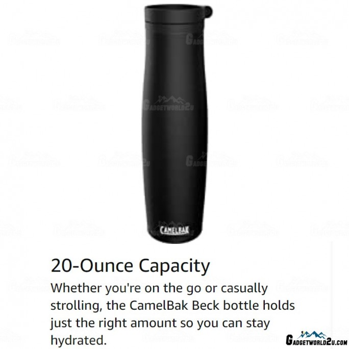 Camelbak Beck 600ml Thermos Bottle Stainless Steel Leak-Proof 6//24 Hot//Cold