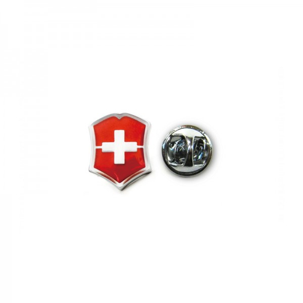 Victorinox Red Emblem Logo Metal Lapel Pin 4.1888