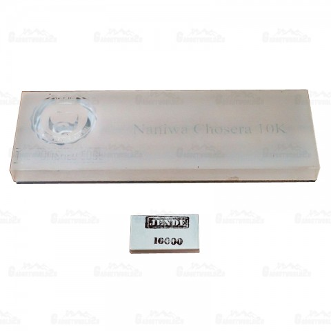 Jende Naniwa Chosera 210 x 70 Japanese Water Sharpening Stone 10000 Grit (The Polished Edge Edition)