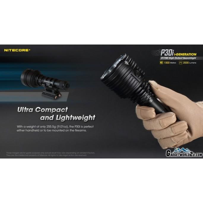 Nitecore P30i CREE XHP35 HI 2000L USB Rechargeable LED Flashlight