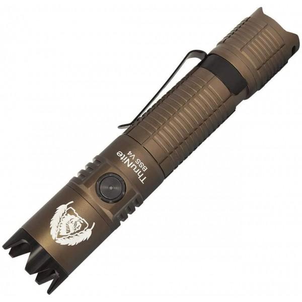 ThruNite BSS V4 Desert Tan Luminus SST70 CW LED 2523L USB Rechargeable Flashlight