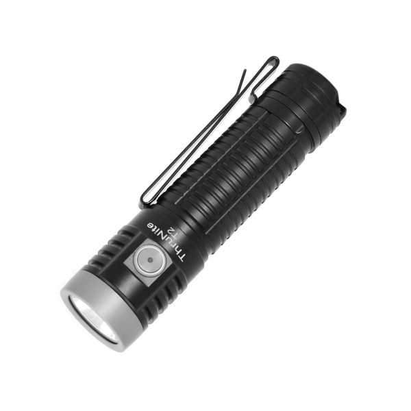 ThruNite T2 Black CREE XHP70 CW LED 3757L USB Rechargeable Flashlight