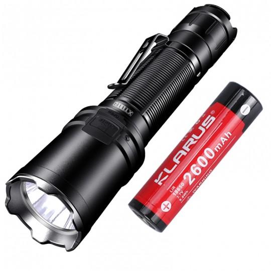 Klarus XT11R LUMINUS SST-40 LED 1300L Rechargeable Flashlight