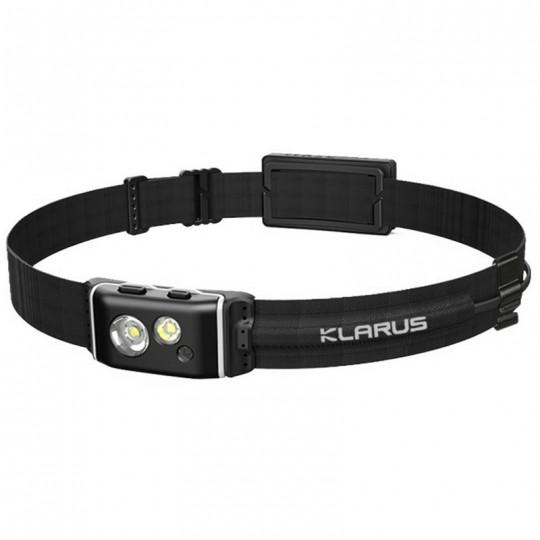 Klarus HR1 Pro CREE XP-G2 LED 400L Rechargeable Headlamp BLACK