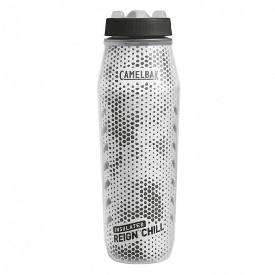 Camelbak Reign Chill 1L 1 Liter Insulated BPA Free Sport Water Bottle Black