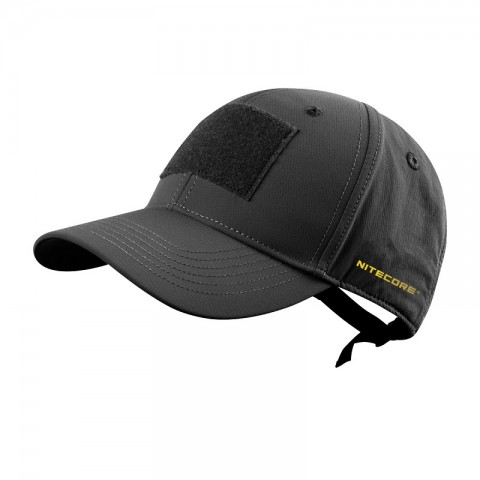 Nitecore NDH10 Combat Cap Double Layer Quick-Drying Anti-Bacterial Black
