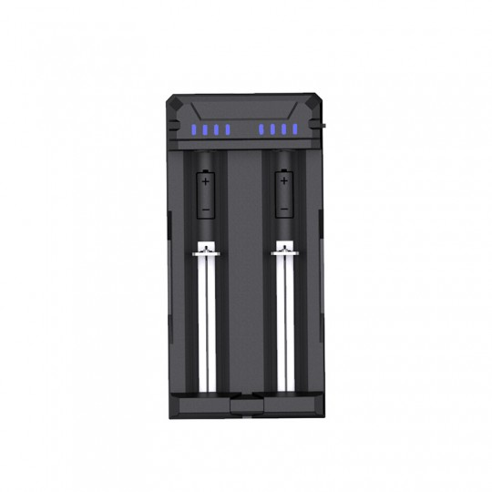 Xtar FC2 Dual Input 1.2V Ni-MH/Ni-CD & 3.6V / 3.7V Li-ion Portable USB Battery Charger