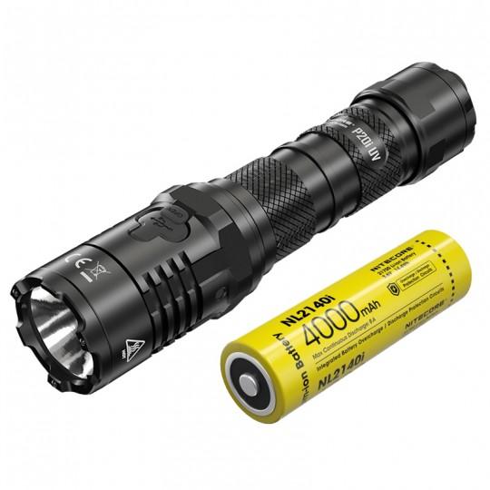 Nitecore P20i UV Luminus SST-40-W LED 1800L USB Rechargeable Flashlight