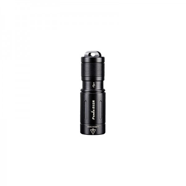 Fenix E02R Cree XP-G2 S3 LED CW 200L Keychain Flashlight BLACK