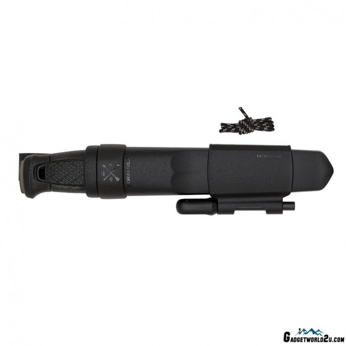 MoraKniv Garberg BlackBlade with Survival Kit (C) Bushcraft Knife 13915