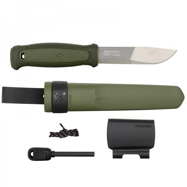 MoraKniv Kansbol Green with Survival Kit (S) Outdoor Bushcraft Knife 13912