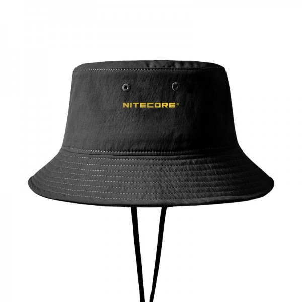 Nitecore NDH20 Boonie Hat Double Layer Quick-Drying Anti-Bacterial Black