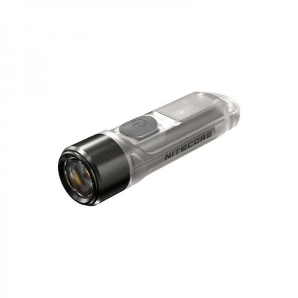 Nitecore TIKI UV 1000mW 365nm & HCRI White LED Keychain 70L Rechargeable Flashlight