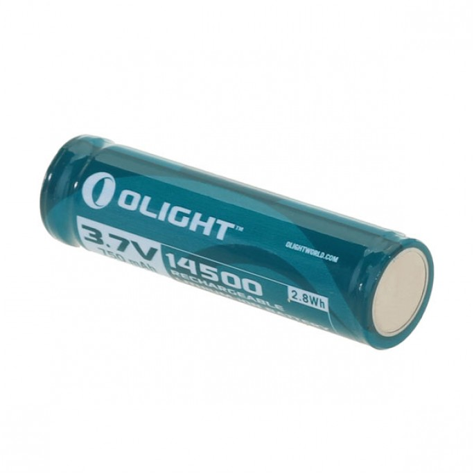 Olight 14500 3.7V 750mAh Protected Rechargeable Li-ion Battery
