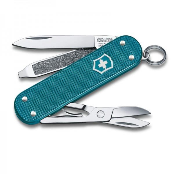 Victorinox Classic Alox Wild Jungle Multitool Pocket Knife 0.6221.242G